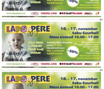 Pesaleidja kutsub kõiki loomasõpru 16.-17. novembril Saku Suurhallis toimuvale messile Laps ja Pere!